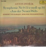 Anton Dvorak - Karajan - Symphonie Nr. 9 (5) e-moll op. 95 / Aus der Meuen Welt