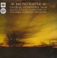 Dvořák, Brahms / Bruno Walter, Columbia Symphony Orchestra - Symphony No. 4 / Academic Festival Overture