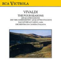 Antonio Vivaldi , Orchestra Da Camera Italiana , Salvatore Accardo - The Four Seasons