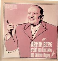 Armin Berg - erzählt vom Überzieher und anderen Dingen...