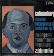 Arnold Schoenberg , Los Angeles Philharmonic Orchestra , Zubin Mehta - Chamber Symphony Op. 9 / Variations Op. 31
