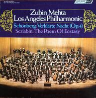 Arnold Schoenberg / Alexander Scriabine - Zubin Mehta , Los Angeles Philharmonic Orchestra - Verklärte Nacht (Op.4) / The Poem Of Ecstasy
