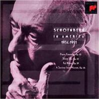 Arnold Schoenberg - Schoenberg In America 1934-1951