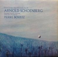 Arnold Schoenberg - Pierre Boulez / Orchestre Du Domaine Musical - Pierrot Lunaire, Op. 21 / Serenade, Op. 24