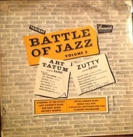 Art Tatum And His Band , Zutty And His Band - Battle Of Jazz, Volume 2
