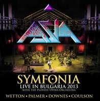 Asia - Symfonia-Live In Bulgaria 2013 (black Vinyl)