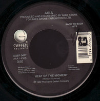 Asia - Heat Of The Moment / Only Time Will Tell
