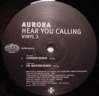 Aurora - Hear You Calling (Vinyl 2)