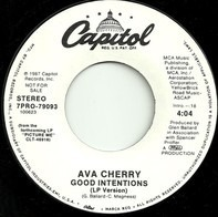 Ava Cherry - Good Intentions