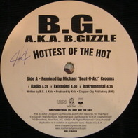B.G. A.K.A. B.Gizzle, B.G. - Hottest Of The Hot