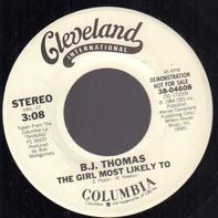 B.J. Thomas - The Girl Most Likely To