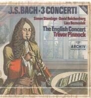 Bach - 3 Concerti (Pinnock)