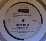 Bam Bam - Give It To Me (Double Trouble Extended Remix)