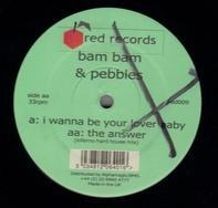 Bam Bam & Pebbles - I Wanna Be Your Lover Baby / The Answer