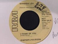 Barbara Lea - I Think Of You