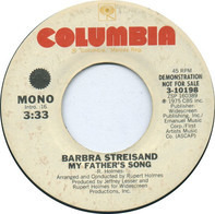 Barbra Streisand - My Father's Song