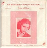 Bea Wain - The Big Bands Greatest Vocalist - Volume Two