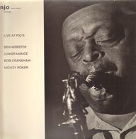 Ben Webster - Live at Pio's