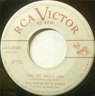 Benny Goodman And His Orchestra - Bumble Bee Stomp / And The Angels Sing