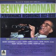 Benny Goodman - Performance Recordings 1937-1938 Volume 2