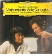 Berg · Stravinsky - Violinkonzerte