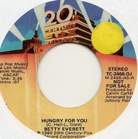 Betty Everett - Hungry For You