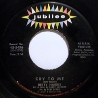 Betty Harris - Cry To Me / I'll Be A Liar