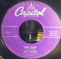 Betty Hutton With Nelson Riddle And His Orchestra - Goin' Steady