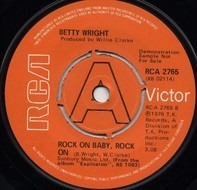 Betty Wright - Rock On Baby, Rock On