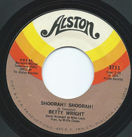 Betty Wright - Shoorah! Shoorah! / Tonight Is The Night