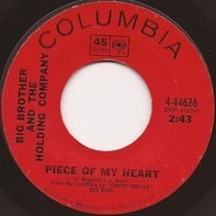 Big Brother & The Holding Company - Piece Of My Heart / Turtle Blues