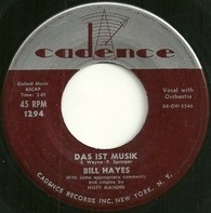 Bill Hayes - Das Ist Musik / I Know An Old Lady