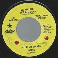 Billie Jo Spears - Mr. Walker It's All Over / Tips And Tables