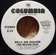 Billy Joe Shaver - One Moving Part