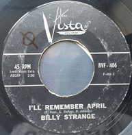 Billy Strange - I'll Remember April / Mooncussers