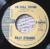 Billy Strange - I'm Still Trying / Life Of Pretend