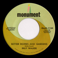 Billy Walker - Better Homes And Gardens
