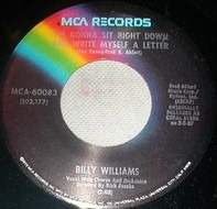 Billy Williams - I'm Gonna Sit Right Down And Write Myself A Letter / Nola