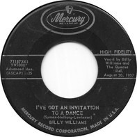 Billy Williams - I've Got An Invitation To A Dance
