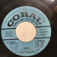 Billy Williams - Nola / Tied To The Strings Of Your Heart
