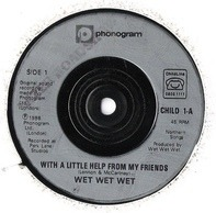 Billy Bragg / Wet Wet Wet - She's Leaving Home / With A Little Help From My Friends
