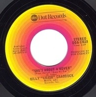 Billy 'Crash' Craddock - Walk Softly / She's About A Mover