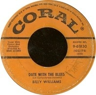 Billy Williams - Date With The Blues / I'm Gonna Sit Right Down And Write Myself A Letter