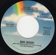 Bing Crosby With The King's Men - Did Your Mother Come From Ireland? / Where The River Shannon Flows