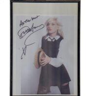 Debbie Harry - Autograph Poster