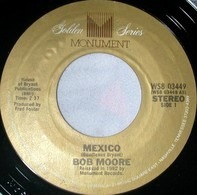 Bob Moore - Mexico / (Theme From) My Three Sons