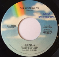 Bob Wills - San Antonio Rose / Across The Alley From The Alamo