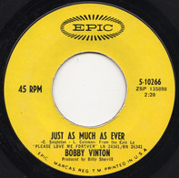 Bobby Vinton - Just As Much As Ever