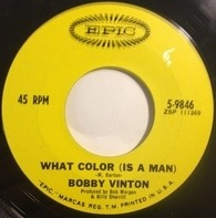 Bobby Vinton - What Color (Is A Man)