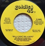 Bo Donaldson & The Heywoods - Billy, Don't Be A Hero